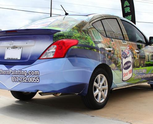 Nissan Car Wraps