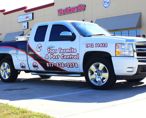 Pest Control Truck Graphics