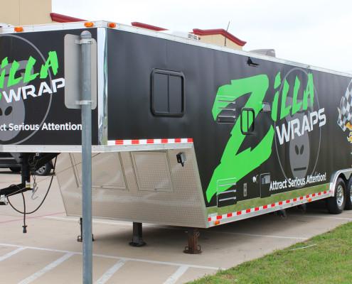 Race Trailer Graphics Dallas