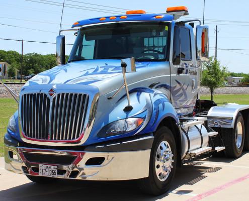 Semi Truck Wrap Dallas