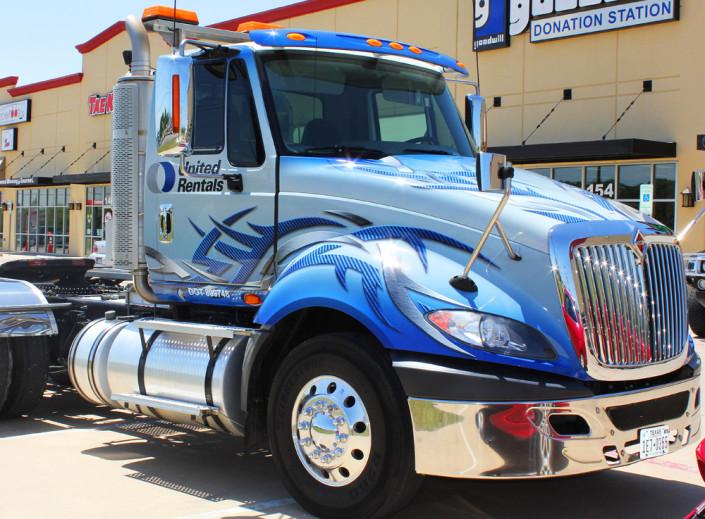 Semi Truck Wraps Dallas