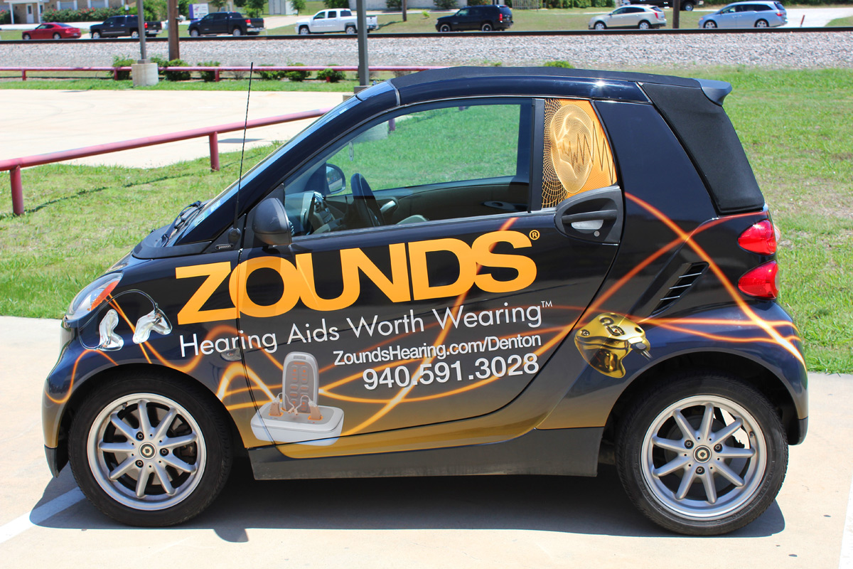 Smart Car Wraps Dfw Zilla Wraps
