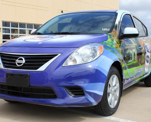 Southern Painting Car Wrap