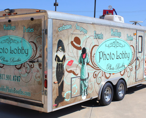 Trailer Wraps Weatherford