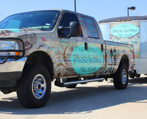 Truck & Trailer Wrap Weatherford