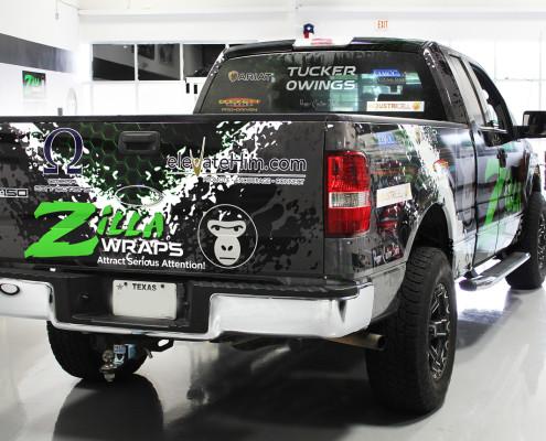 Tucker Owings Fishing Truck Wrap