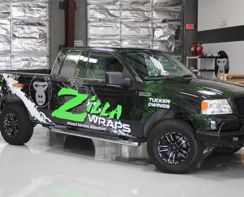 Tucker Owings Truck Wrap