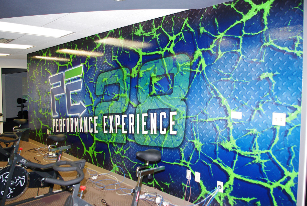 Custom wall murals dfw zilla wraps for Custom photo wall mural