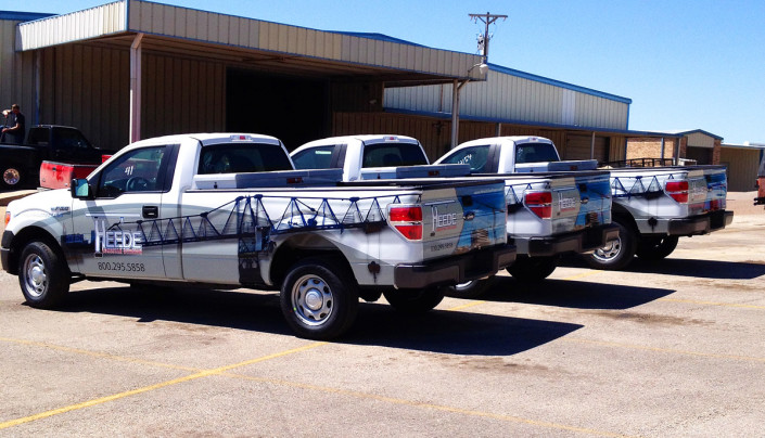 Wrapped Truck Fort Worth