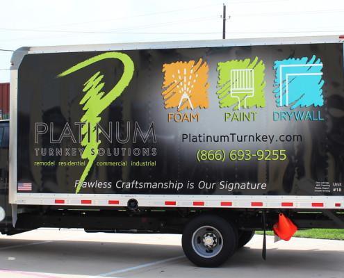 Dallas Box Truck Graphics