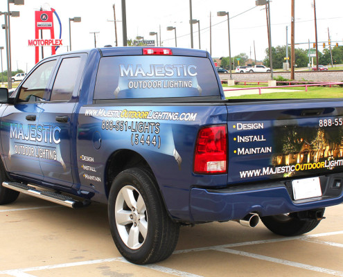 Fort Worth Vehicle Wraps