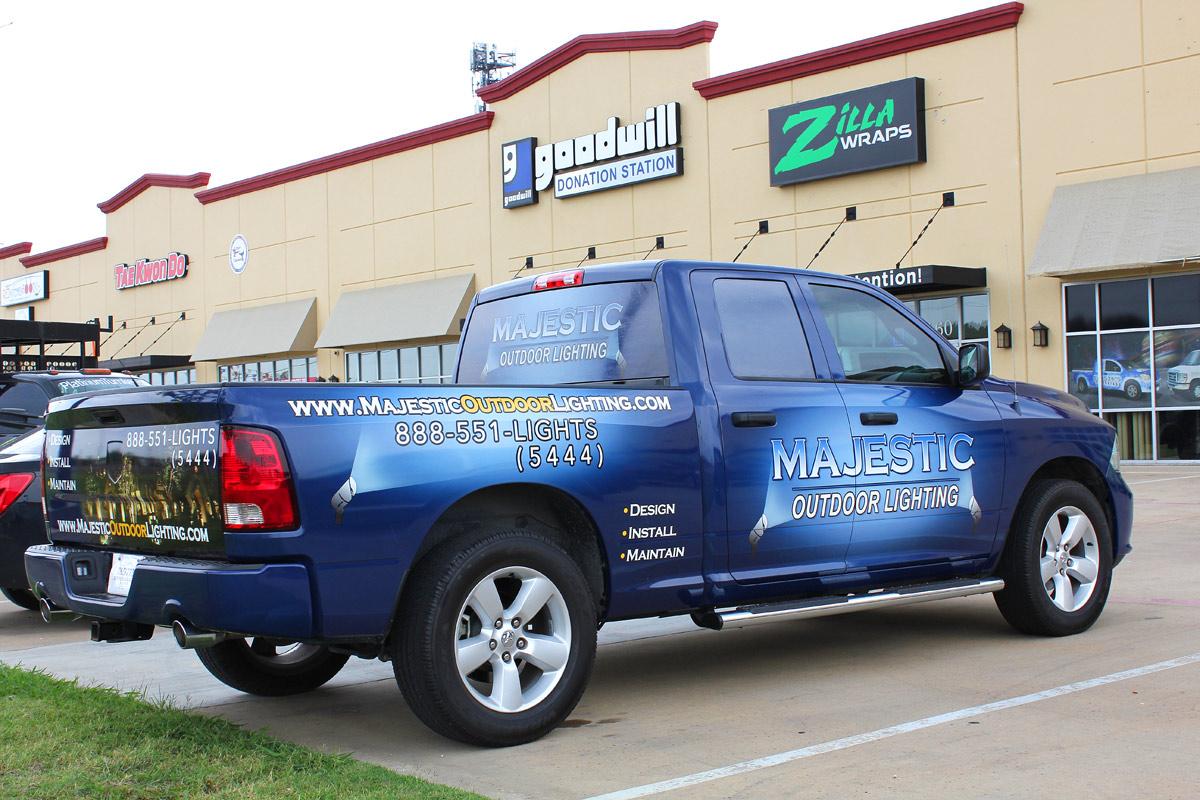 Vehicle Wraps Zilla Wraps Fort Worth