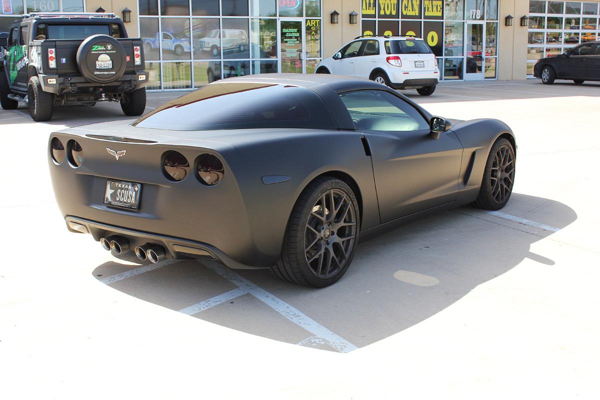 car wrap corvette - photo #8