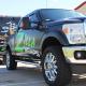Custom Matte Truck Wraps