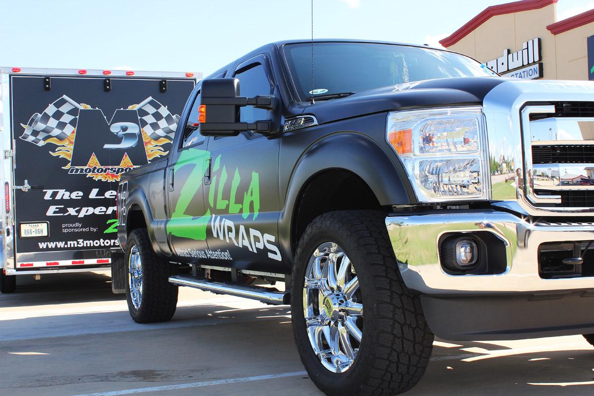 Matte Car Wraps Dallas Fort Worth Zilla Wraps