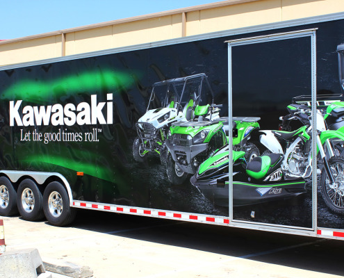 Dallas Trailer Wraps Kawasaki Zilla Wraps