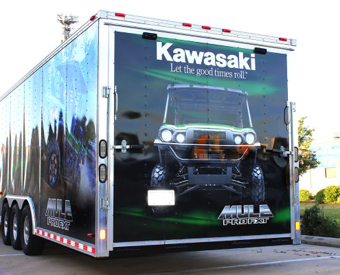 Dallas TX Trailer Wraps Zilla