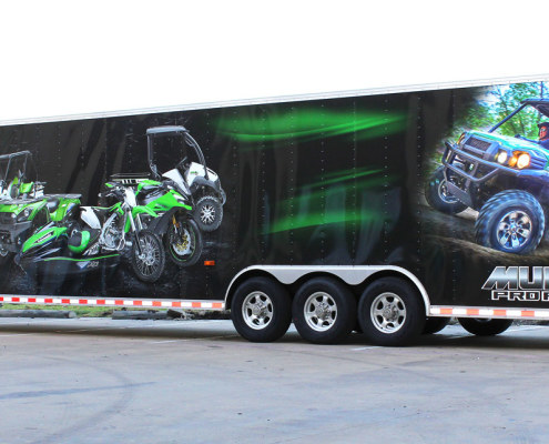Dallas TX Trailer Wraps Zilla Wraps