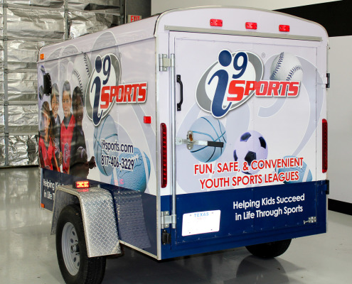 Graphics Trailer Wraps Fort Worth