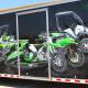 Kawasaki Trailer Wrap Dallas