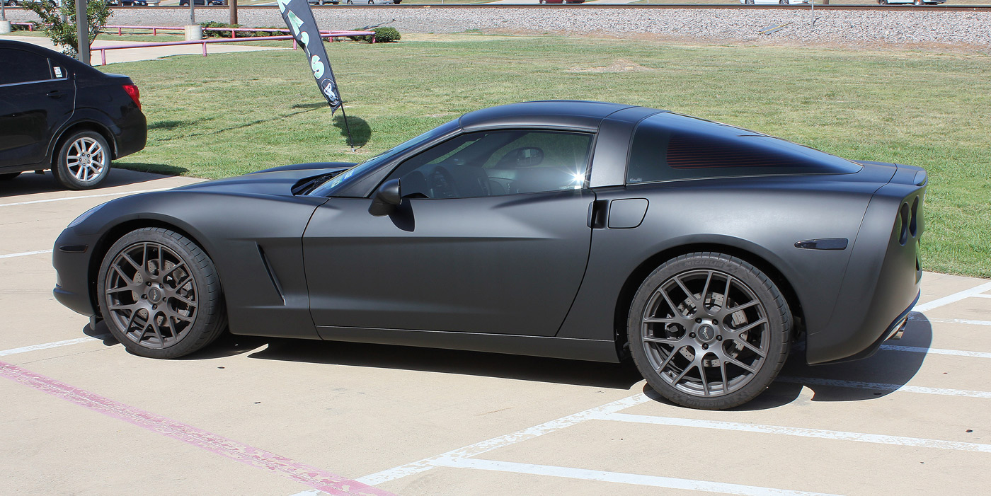 Matte Black Car Wraps Dallas - Zilla Wraps