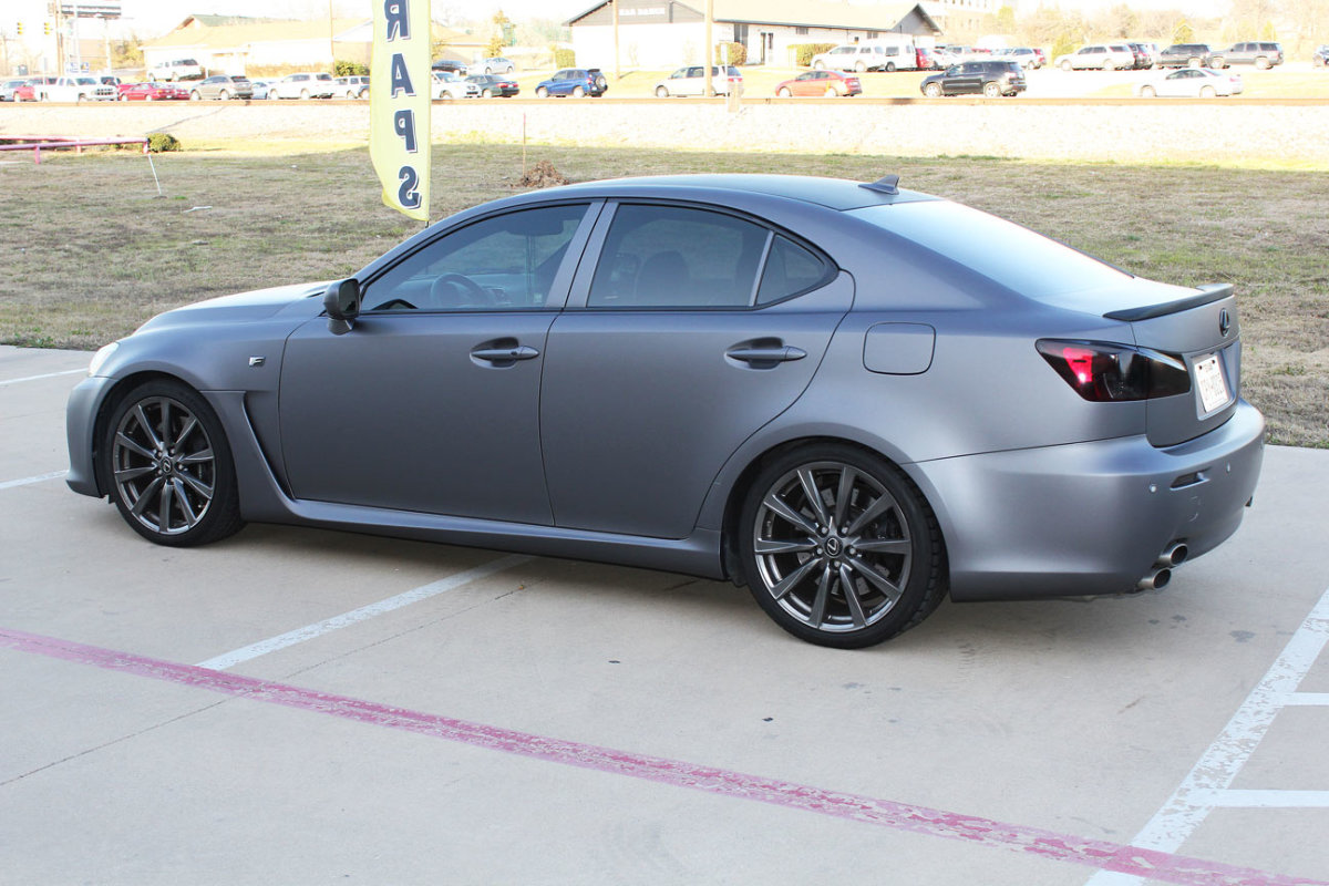 Matte Gray Metallic Car Wrap Dallas Zilla Wraps