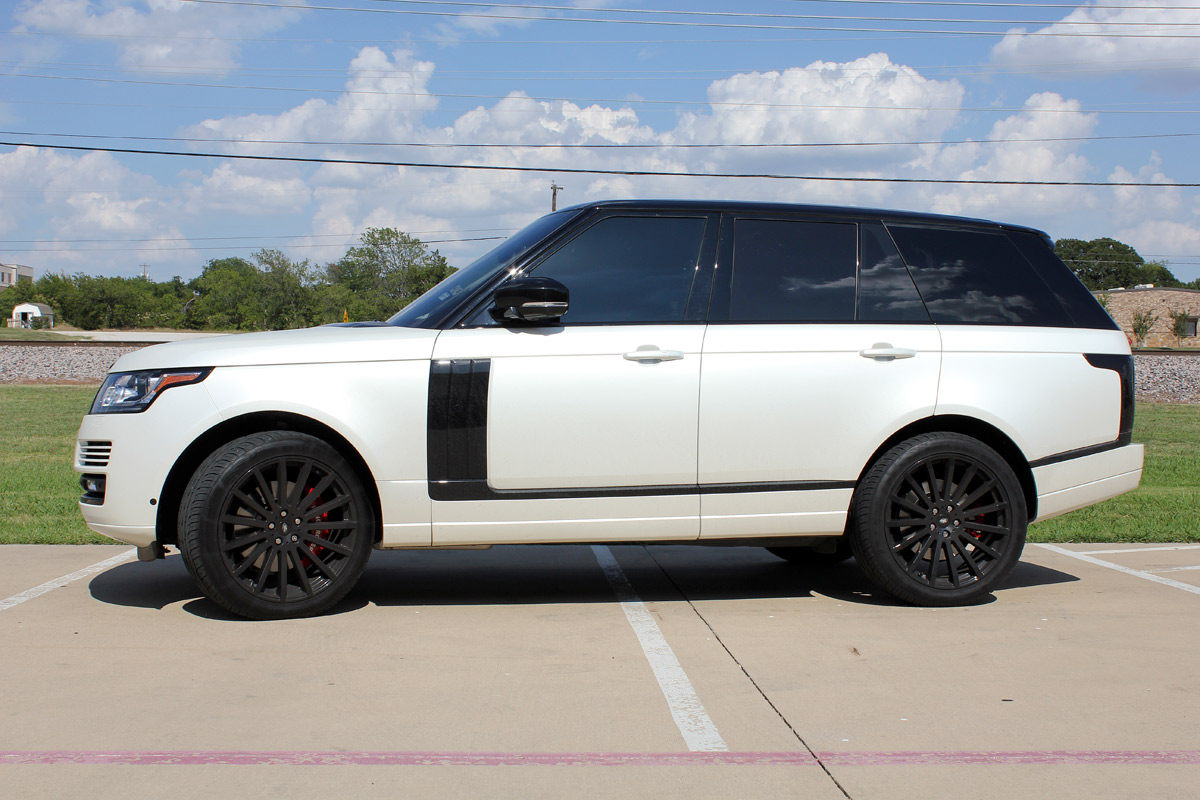Range Rover Car Wraps Zilla Wraps