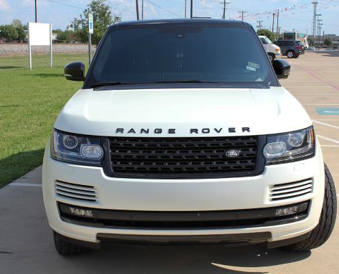 Range Rover Satin White Pearl Wrap