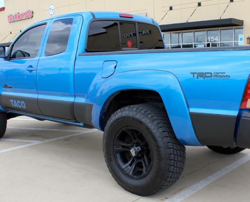 Toyota Tacoma Matte Black