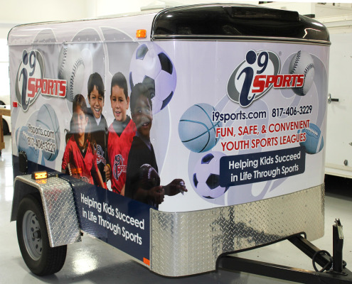 Trailer Graphic Wraps Fort Worth