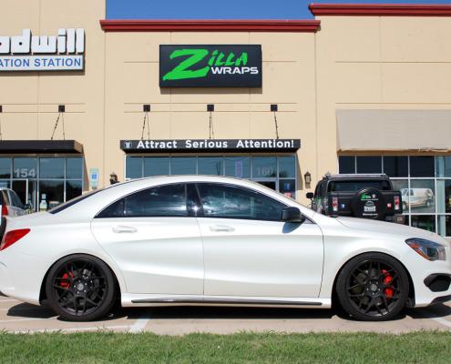 Zilla Wraps Mercedes Car Wrap