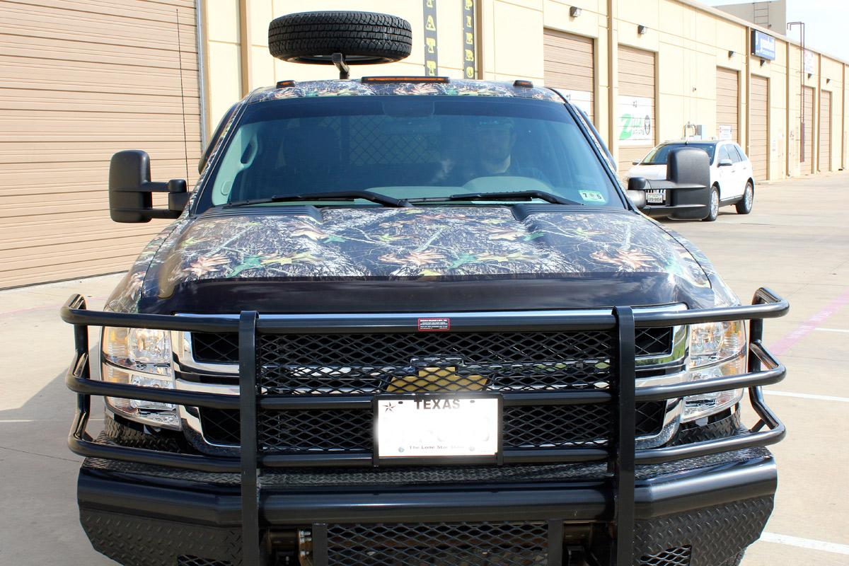 Camo Truck Wraps Dallas