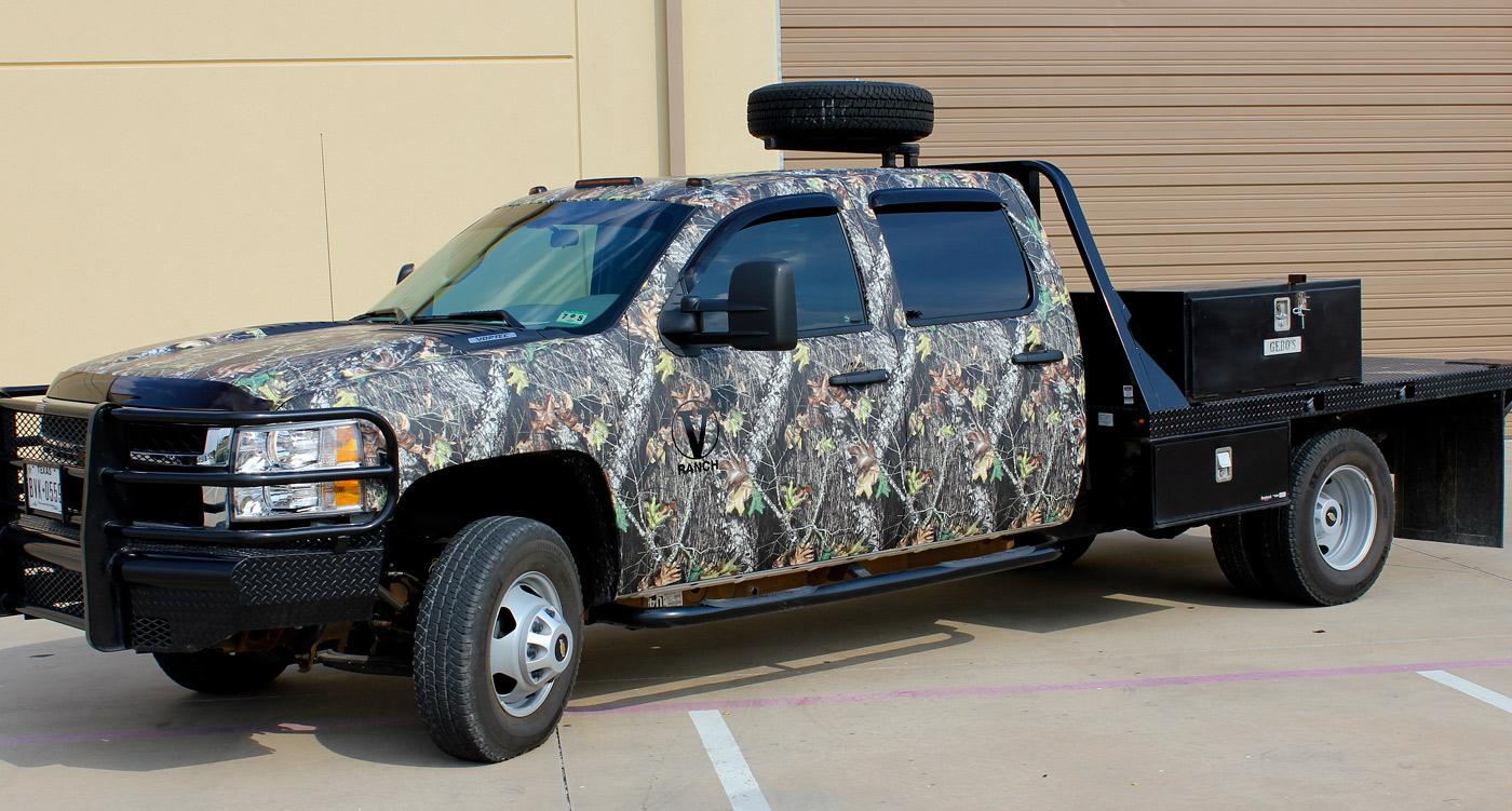 Camo Truck Wraps Mossy Oak Break Up