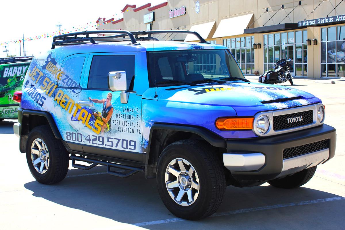 Cruiser Auto Wraps Dallas Zilla Wraps