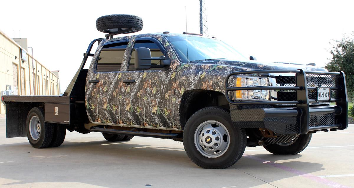 Zilla Wraps Camo Truck Wrap