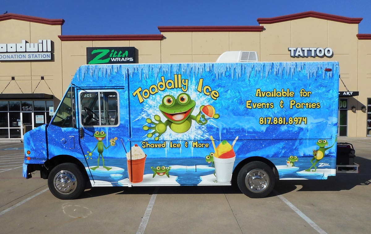 Zilla Wraps Food Truck Wraps
