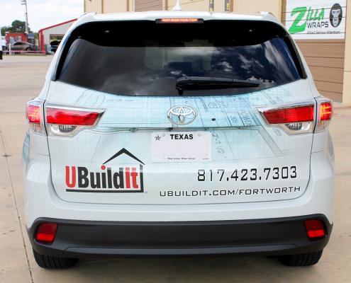 Car Advertising Wrap Fort Worth