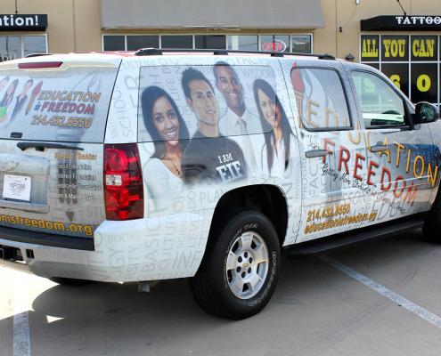 Dallas Suburban Auto Wraps