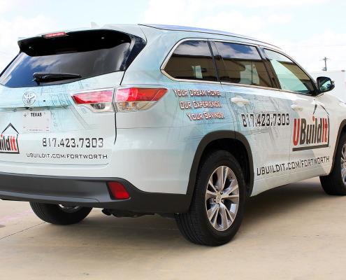 Fort Worth Car Wrap Advertising