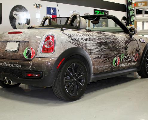 Restaurant Car Wraps Fort Worth