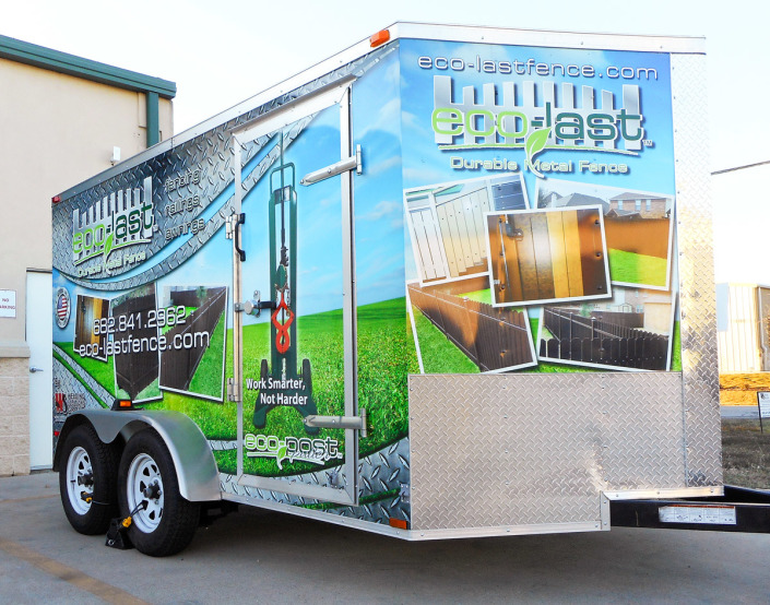 Trailer Advertising Wraps Fort Worth