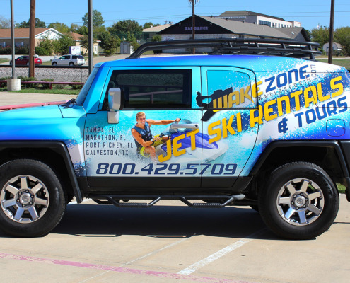 Vinyl Car Wrap Fort Worth