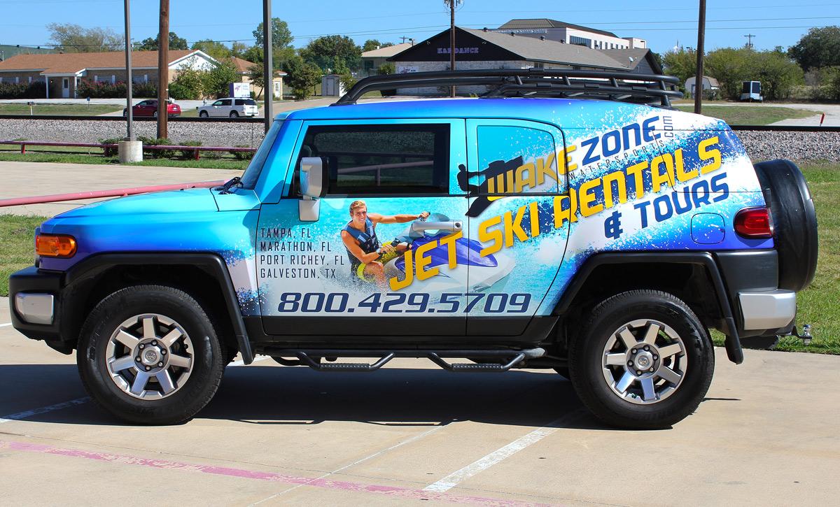 Vinyl Car Wrap Fort Worth