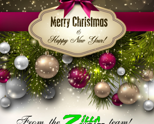 Merry Christmas From Zilla Wraps
