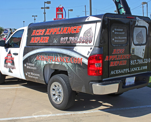 Appliance Repair Truck Wraps