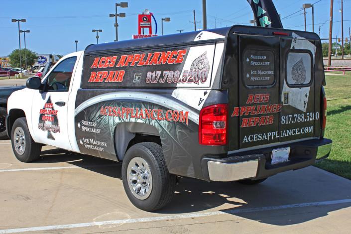 Appliance Repair Truck Wraps