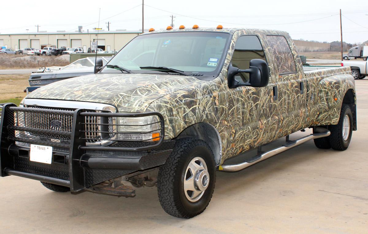 Max 4 Camo Wrap For Trucks
