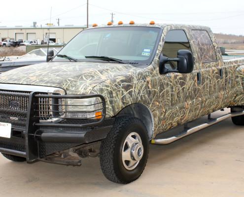 Camo Truck Wraps Realtree