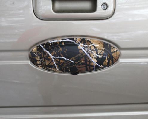 Camo Wraps Ford Emblem
