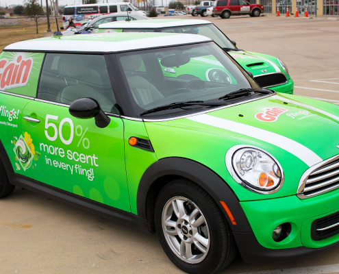 Car Wraps Gain Detergent